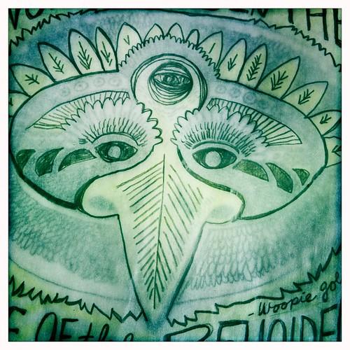 bird - sketch - 2nd color