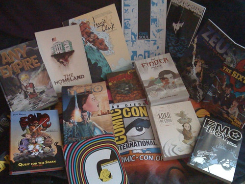 My Comic-Con 2011 Haul