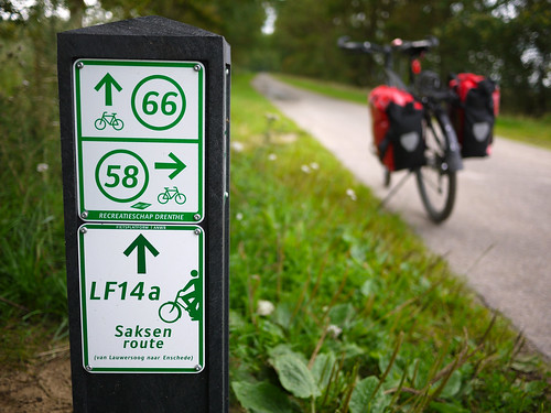 Dutch bicycle signs