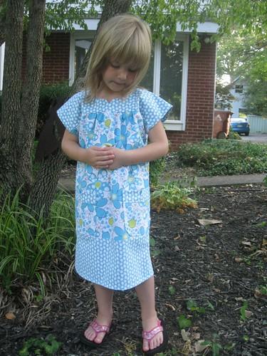 O+S Dress: Blue