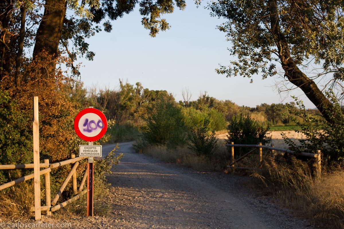 No vehículos no autorizados