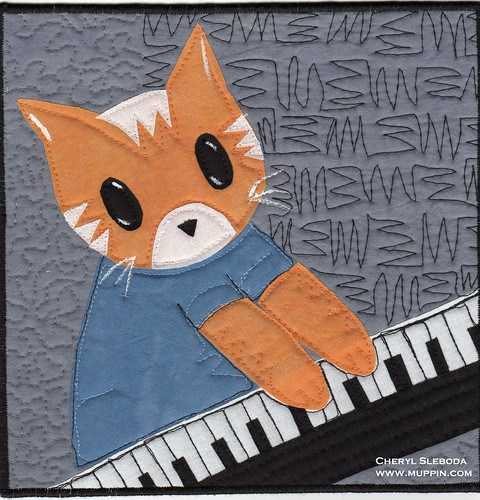 Keyboard Cat Weekly Quilt