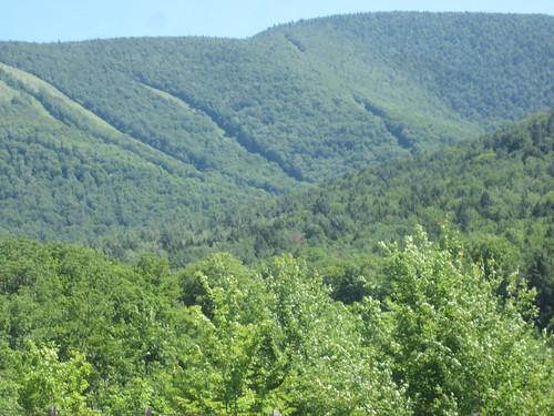 Hunter Mtn ski slopes