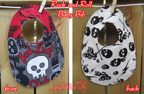 Rock & Roll Bib