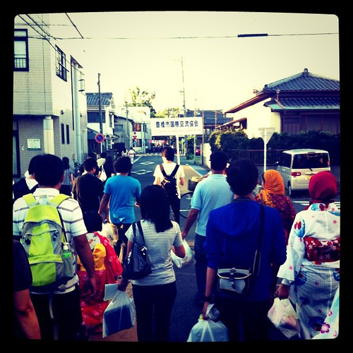 Walk to Hanabi