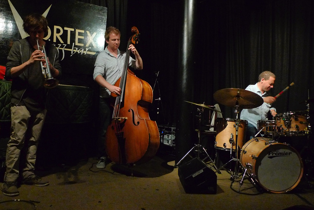 Sam Wooster Quartet (Dunmall, Sanders, Mapp) @ the Vortex 20.7.11