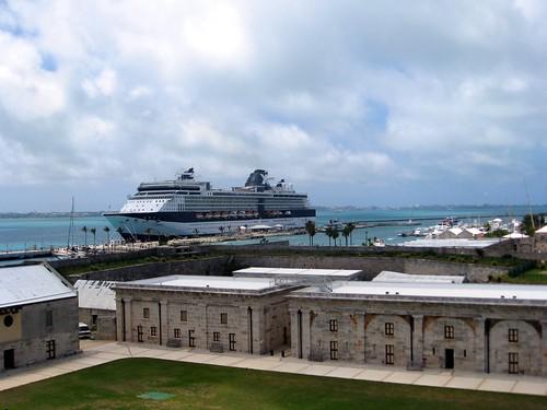 celebrity summit at royal naval dockyard