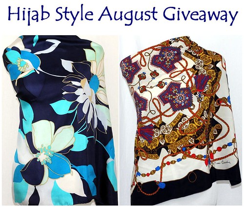 Hijab Style August Giveaway