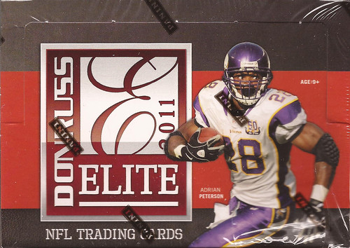 2011 Donruss Elite box