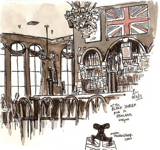black sheep pub, ashland