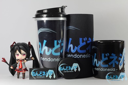 Nendonesia Merchandise Set - Miku is not included XD