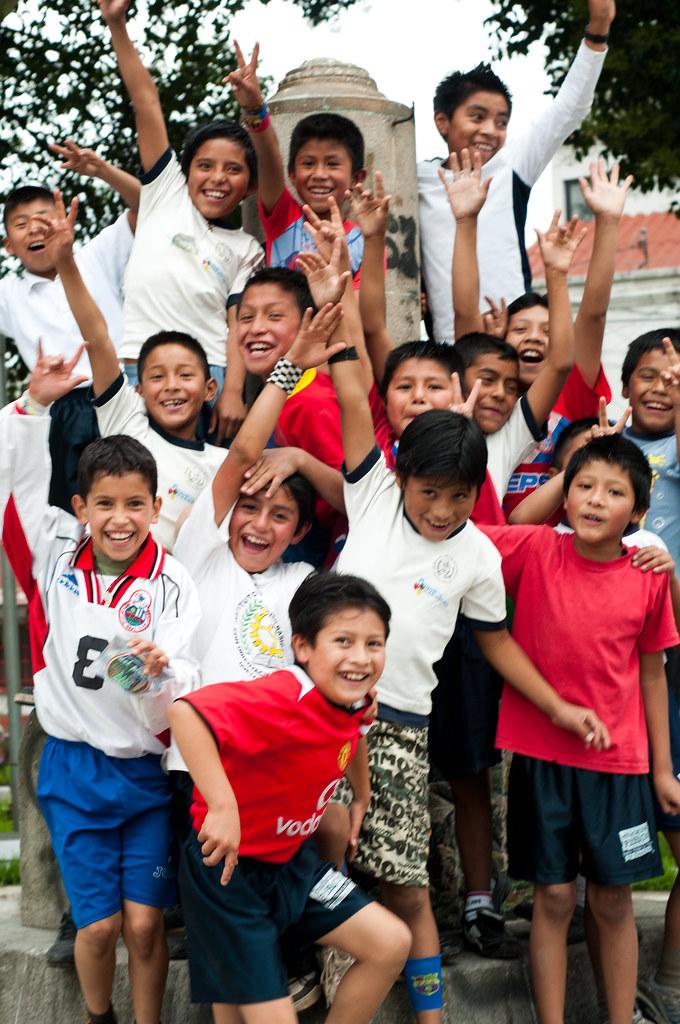 Kids in Xela, Guatemala