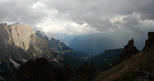 Clouds over Val de Vaiolet