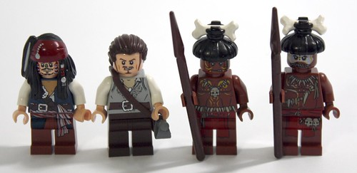 Minifigures from 4182