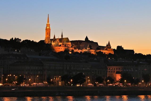 Église Matthias et le Danube, Budapest