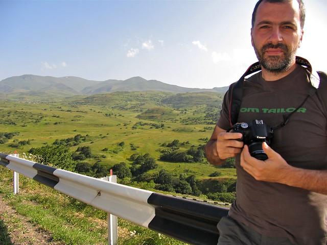 Profil de photographe, Zangezur, Arménie