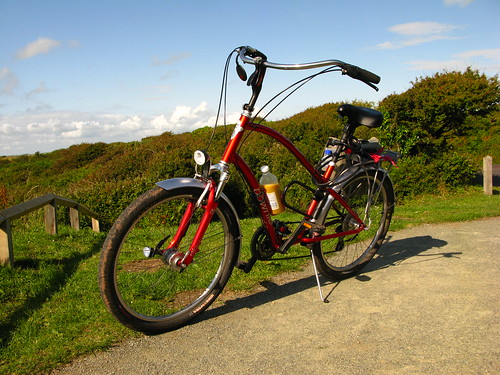 Electra Townie Commuter on holiday by MoreLuckThanJudgement...