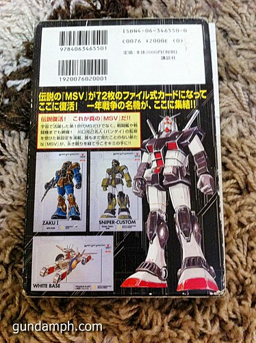 GN Sefer Animerica Gundam Official Guide MSV Collection (14)
