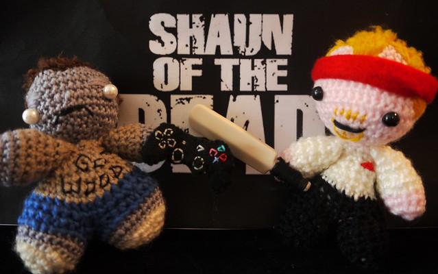 Shaun of the Dead Amigurumi