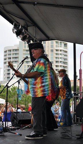 My Ultra-Cool Uncle Marty Bednar during Van Wezel's Friday Fest, July 15, 2011
