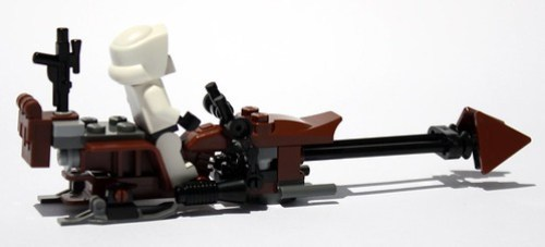 Speederbike from the side