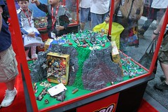 LEGO Heroica Display Case - LEGO Booth at Comic Con - 1