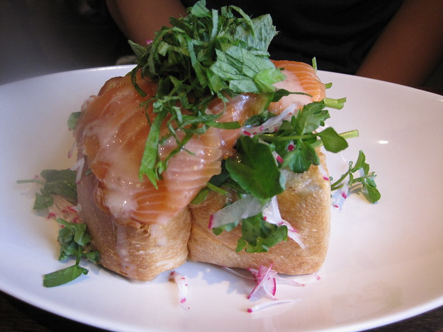 Toasted Salmon Butter Bread
