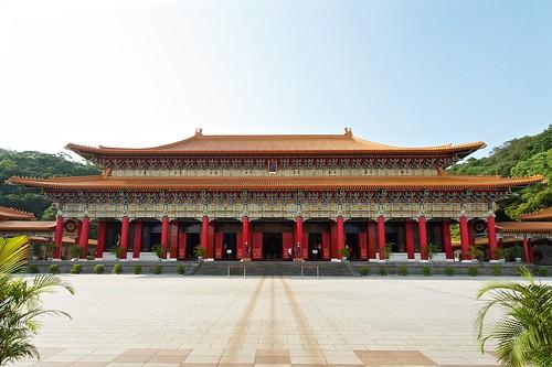 The taipei, Taiwan Martyrs Shrine