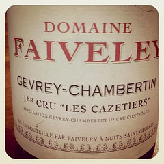 2009 Gevrey-Chambertin Les Cazetieres 1er Cru, Domaine Faiveley