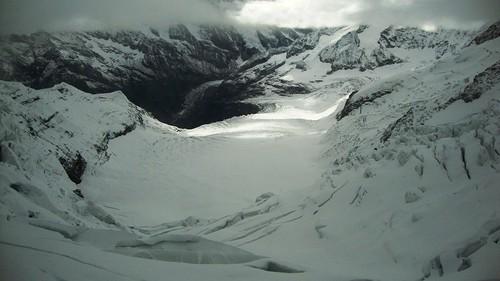 Vistas del glaciar de Grindelwald desde la Estación de Eismeer