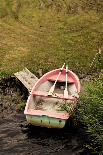 Little boat waiting for someone