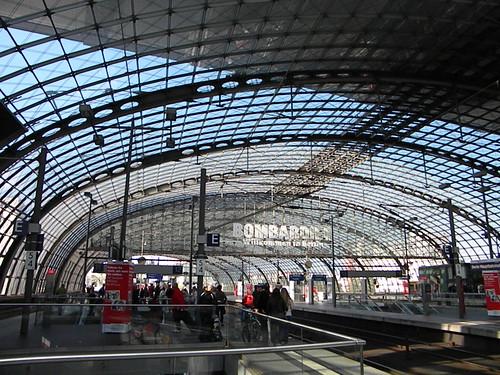 A Estação Central de Berlin