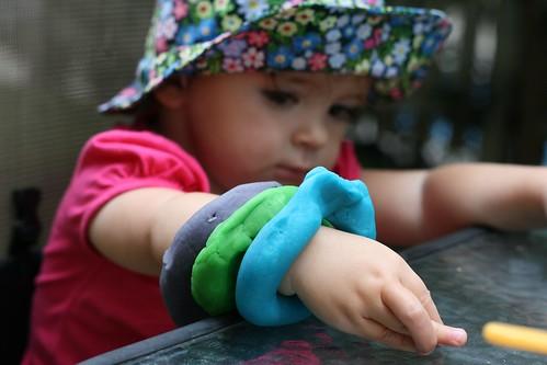 Playdough bracelet
