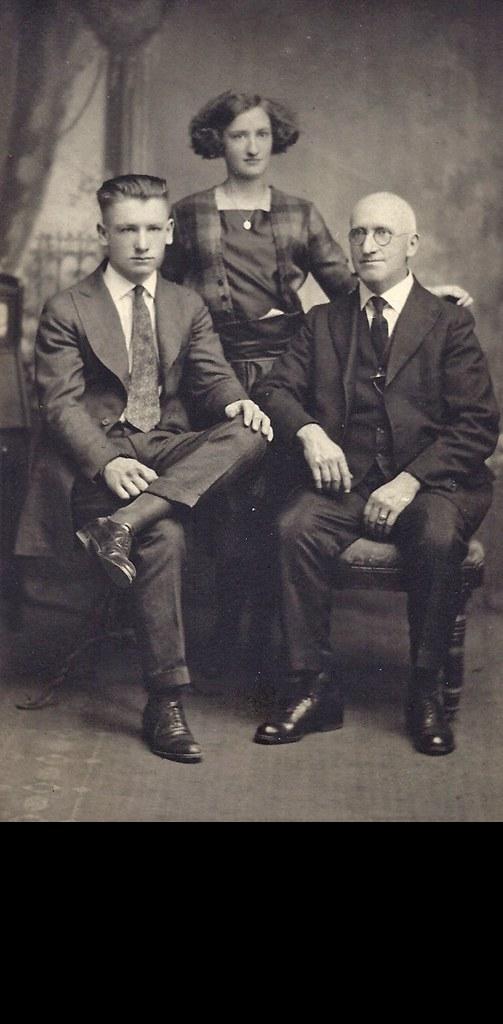 George William, Edwidge and Alfred