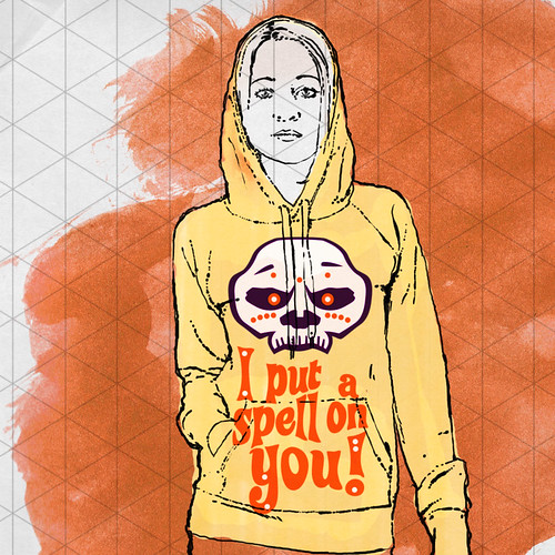 """Artsmoto.com +++ Voodoo Mask """"I Put A Spell On You"""" Girl With Hoodie on Flickr"""
