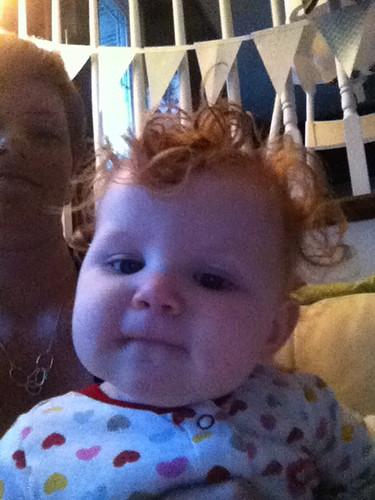 Post-bath curls
