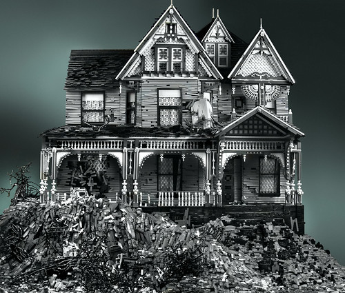Lego: Victorian on Mud Heap
