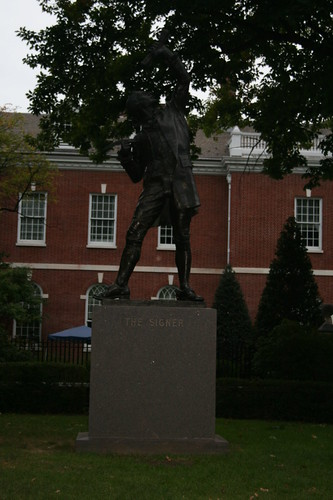 The Signer Statue