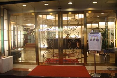 [台湾2.5] 凱迪亜男女健康廣場の入り口はゴージャス