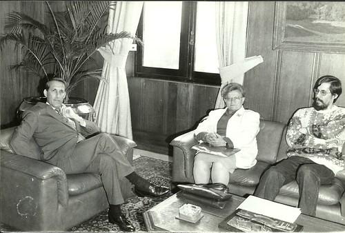 Prefeita Luiza Erundina em encontro com Governador Orestes Quércia