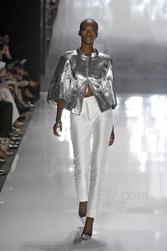 CRR FV Spring 2012 silver leather jacket