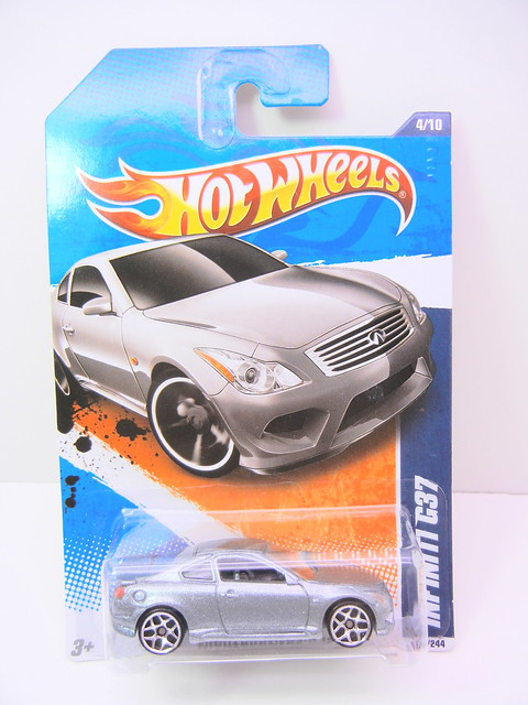hot wheels infinity g37 silver