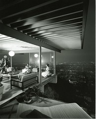"""Case Study House #22 – Two Girls"" by Julius Shulman (1960)"