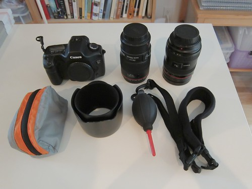 DSLR travel kit