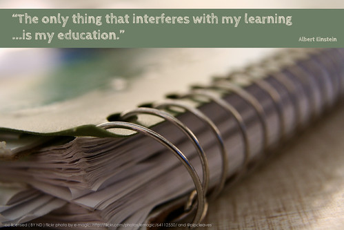 What interferes with your learning?