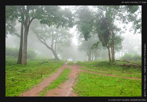 An early morning   K.Gudi