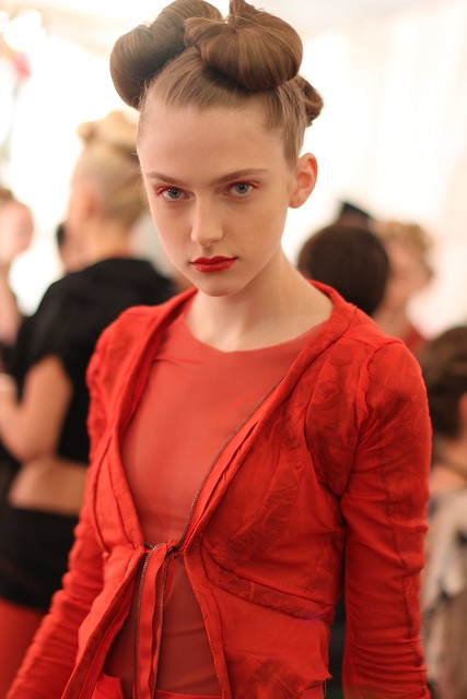 Sneak Peek: Katie Gallagher Backstage S/S 2012