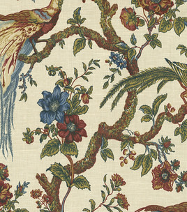 waverly olana oxf jewel fabric peacock