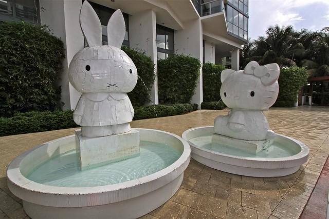 Kitty et Miffy, Miami, États-Unis