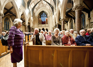 Ann Widdecombe Gives One Year On Lecture in Bath